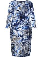 1d0ea70d Sukienka tuba Mirona IV, wyszczuplająca kreacja maskująca brzuch ...