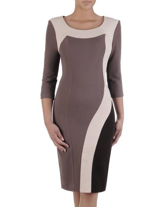 4b453287b8 Sukienka z tkaniny Matylda III