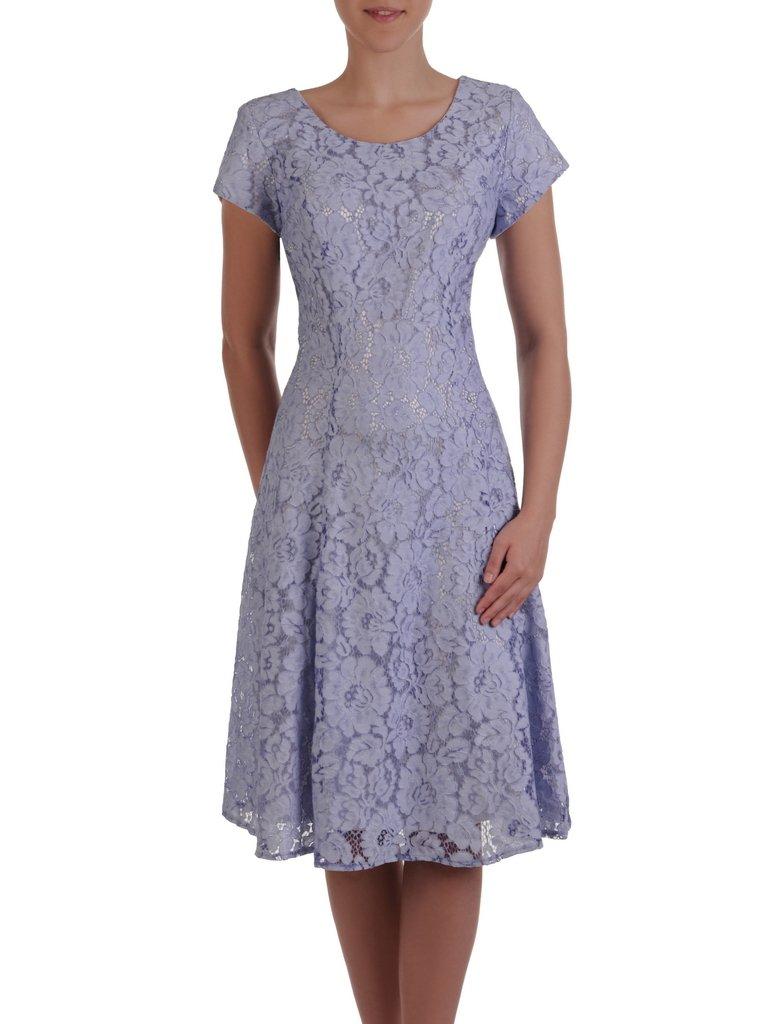 096fdbcf28 Błękitna sukienka na wesele 16553