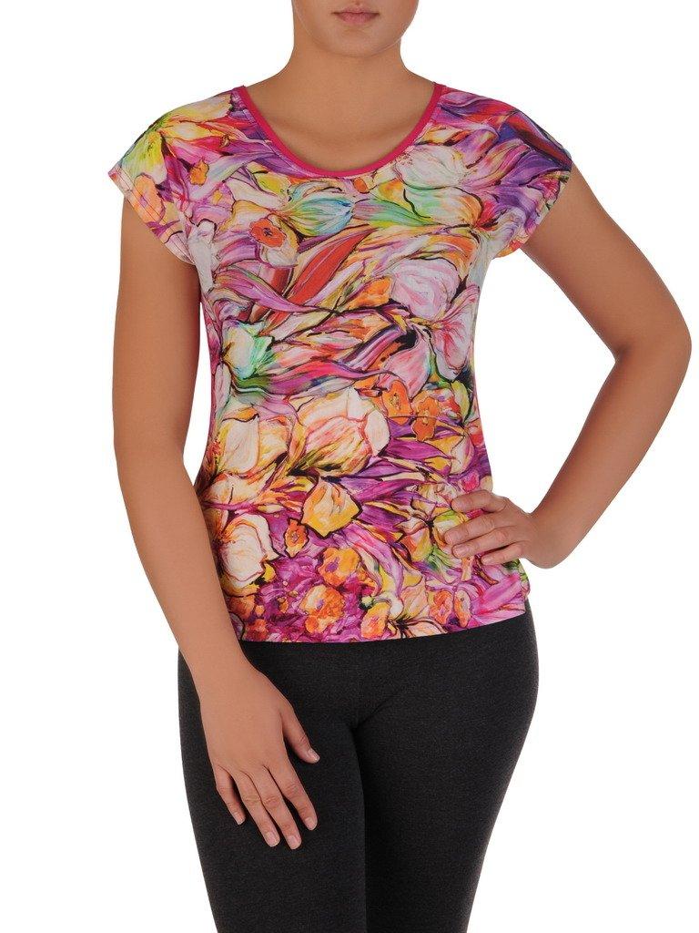 54e76356fa Bluzka w kolorowe kwiaty Ella II. Kliknij