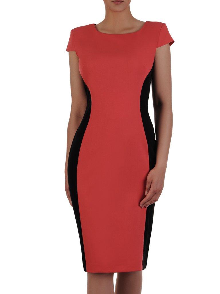 1d6e81b5e0 Dwukolorowa sukienka wyszczuplająca Aurora V