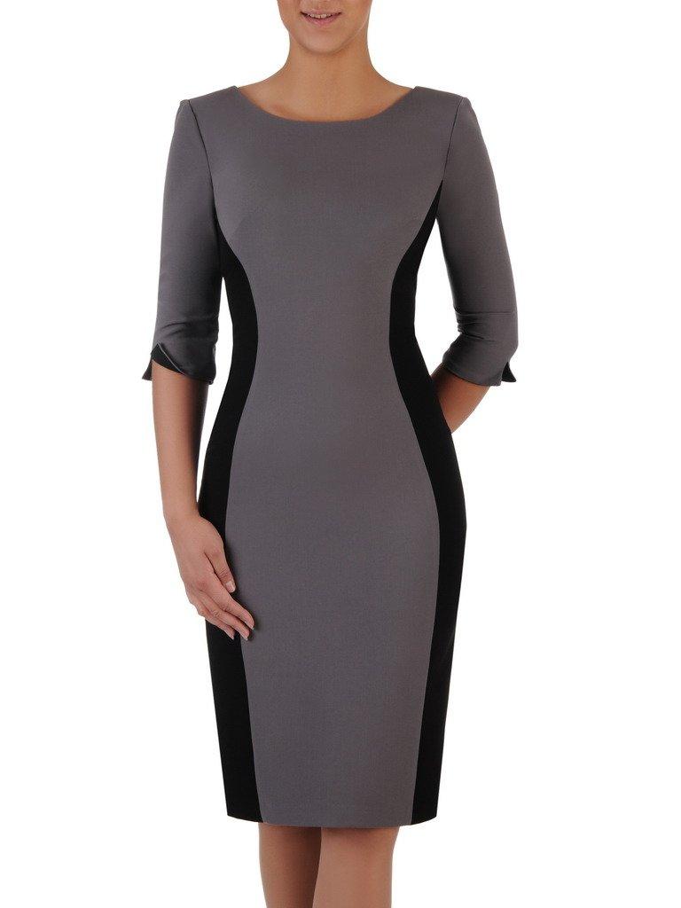 48863b76f Kliknij, aby powiększyć · Dwukolorowa sukienka wyszczuplająca Aurora VI,  modna kreacja ...