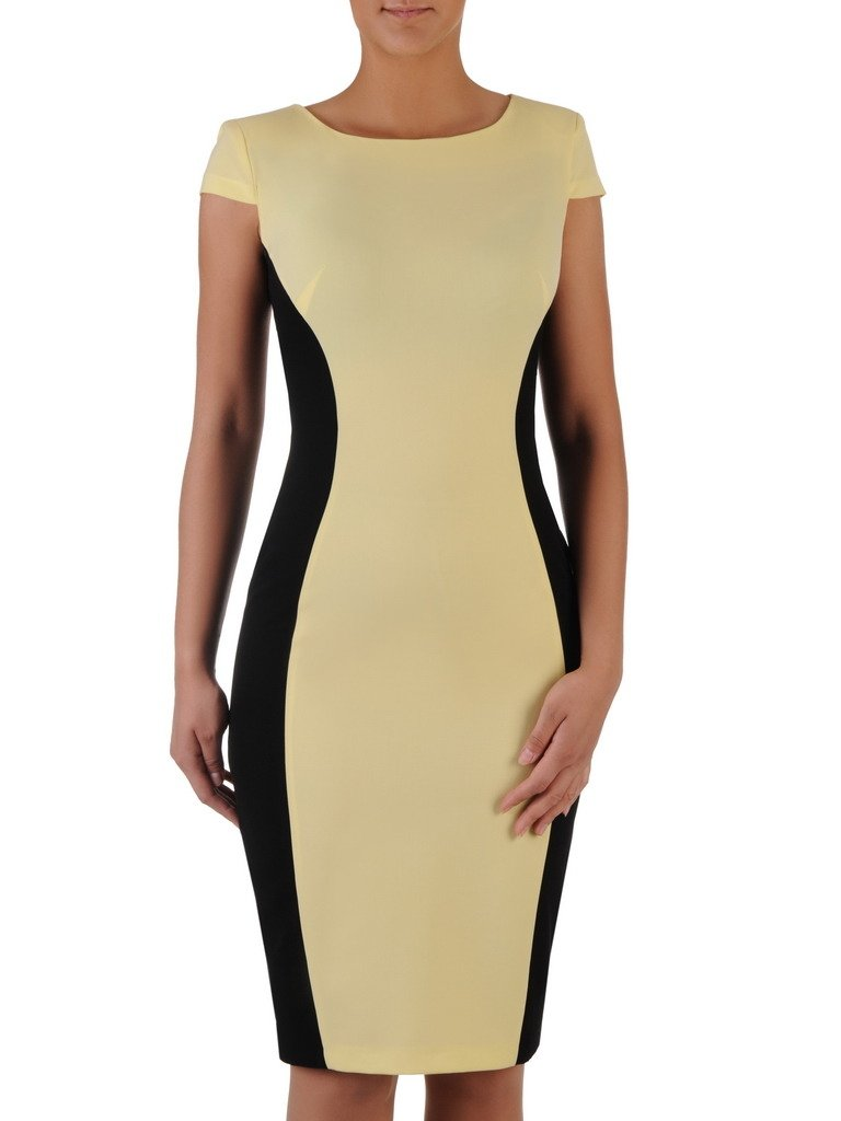 41ff2dbb1 Kliknij, aby powiększyć; Dwukolorowa sukienka wyszczuplająca Aurora VIII,  modna kreacja ...