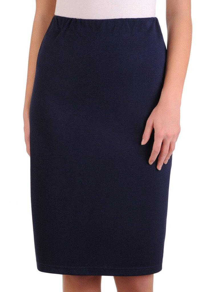 Dzianinowa spódnica z ozdobną gumą 14368. | Sklep online