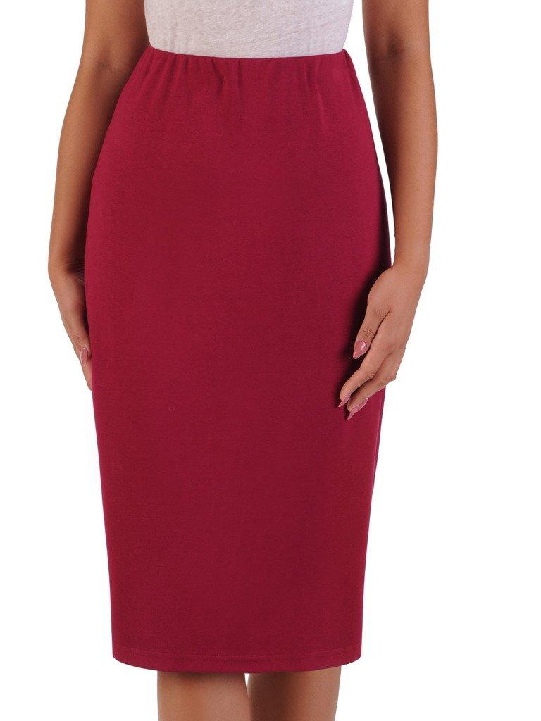 26b5d85446831c Dzianinowa spódnica z ozdobną gumą 17507. | Sklep online ModBiS.pl
