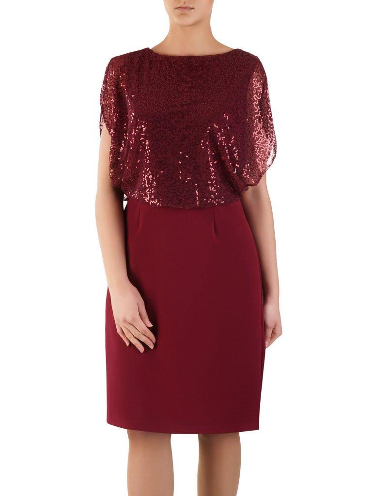 e11a1f1950 Elegancka sukienka wyszczuplająca 14407