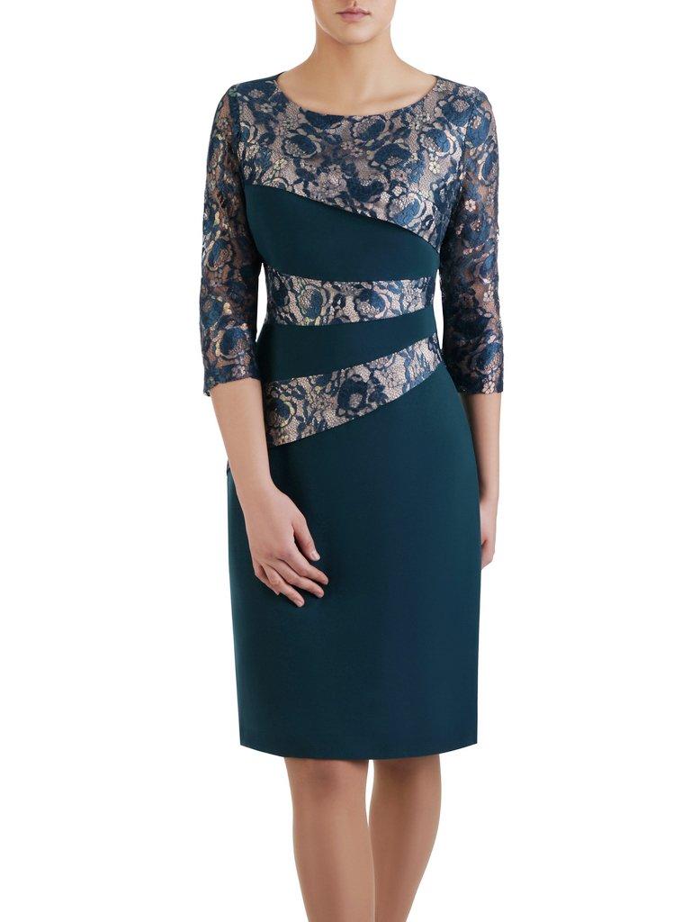 83e7a3e28d85 Elegancka sukienka wyszczuplająca Ewita X