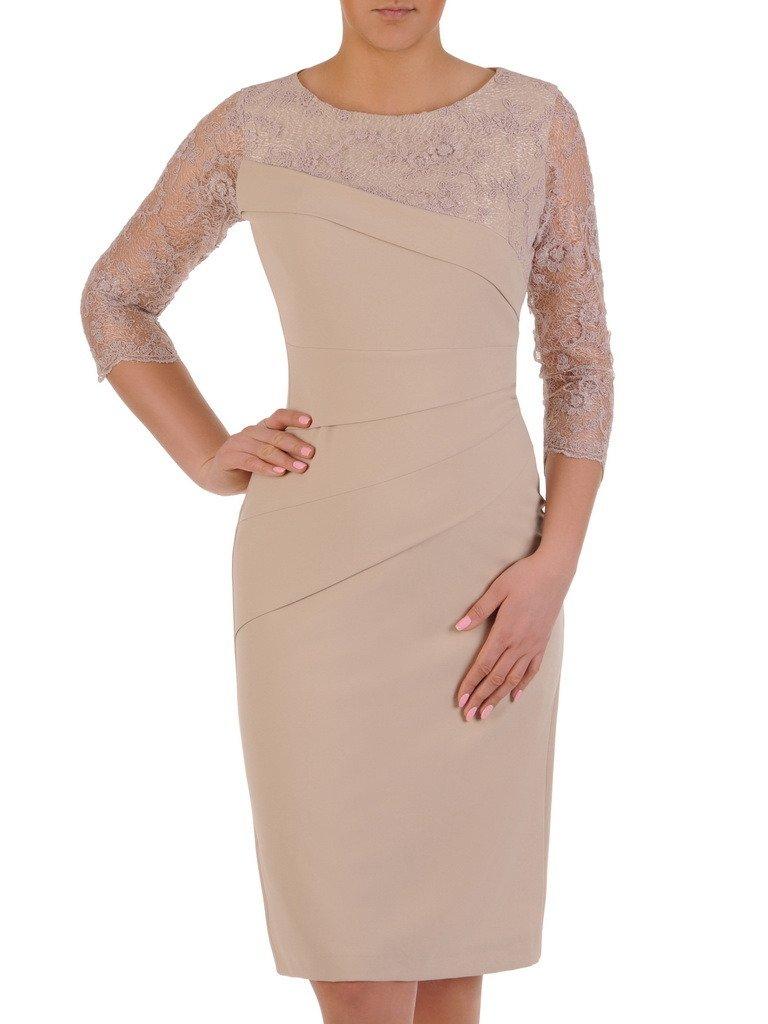 a1562fd56293 Elegancka sukienka wyszczuplająca Ewita XIII