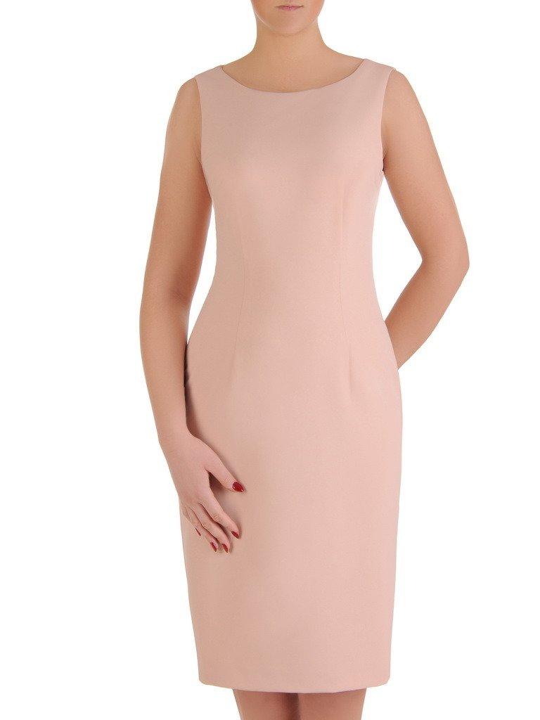 67f4eaaaef Elegancka sukienka z koronkowym bolerkiem 19363