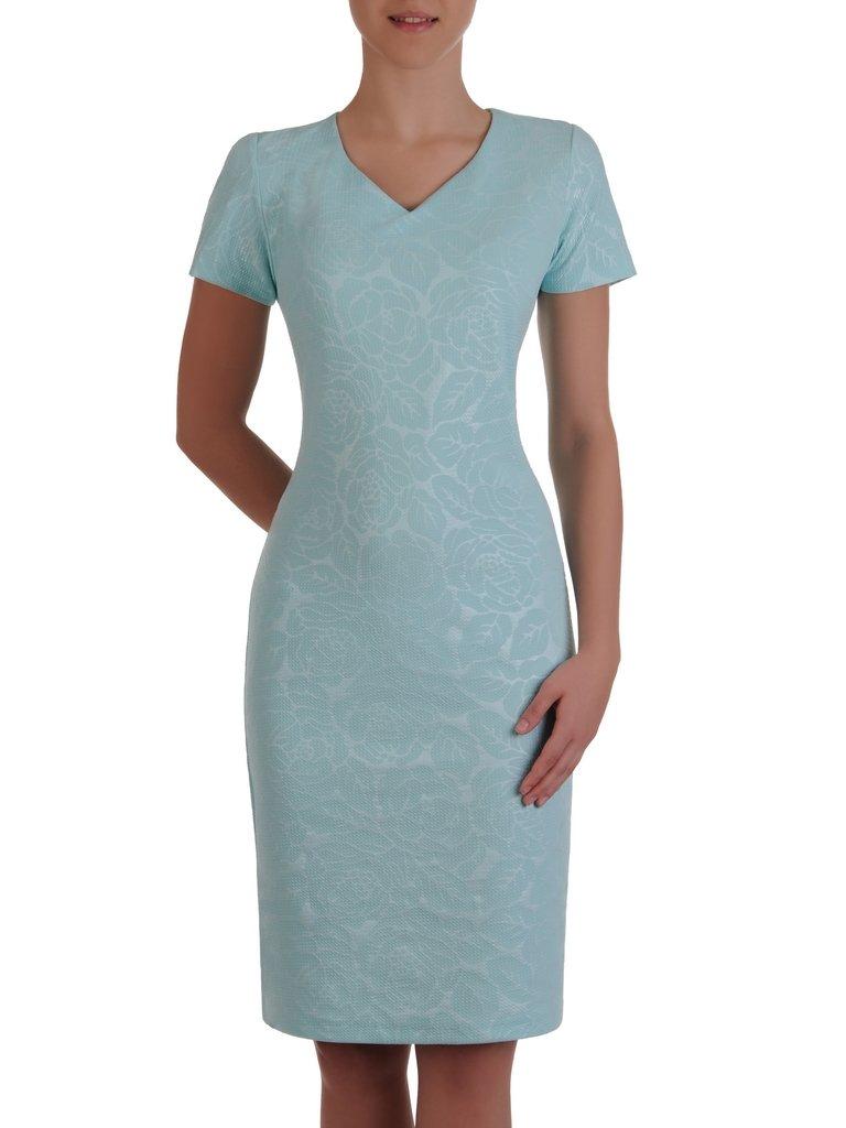 0a04028c61 Elegancka sukienka z połyskującej