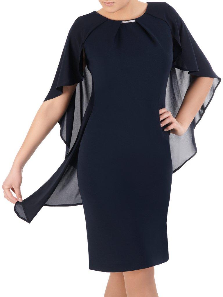 a52a176403 Granatowa sukienka Silwana III