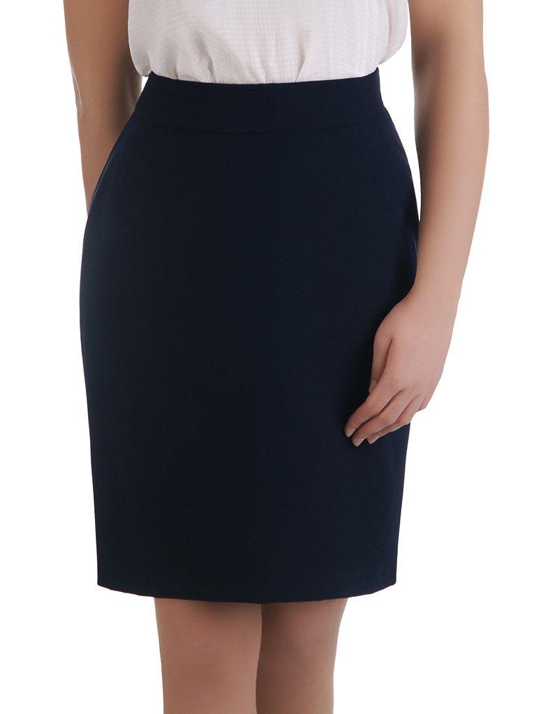 77af620619e4c0 Klasyczna spódnica w kolorze granatowym Helga III.   Sklep online ...