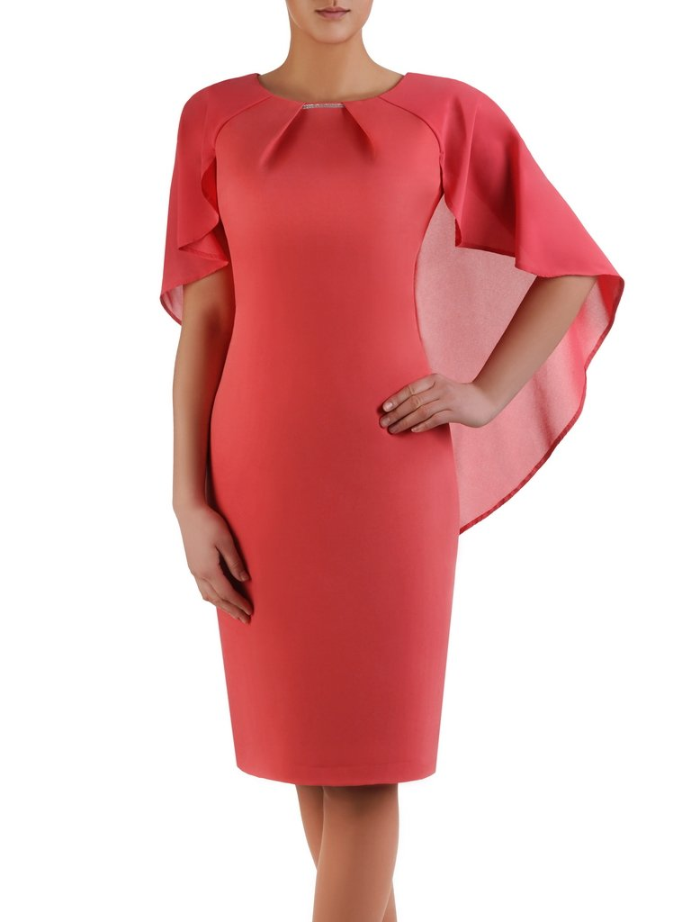 81f637c04c Koralowa sukienka Silwana II