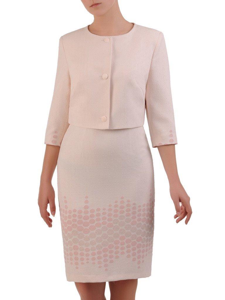 dbb4bf7388 ... elegancki komplet sukienka z żakietem 20953. Kliknij