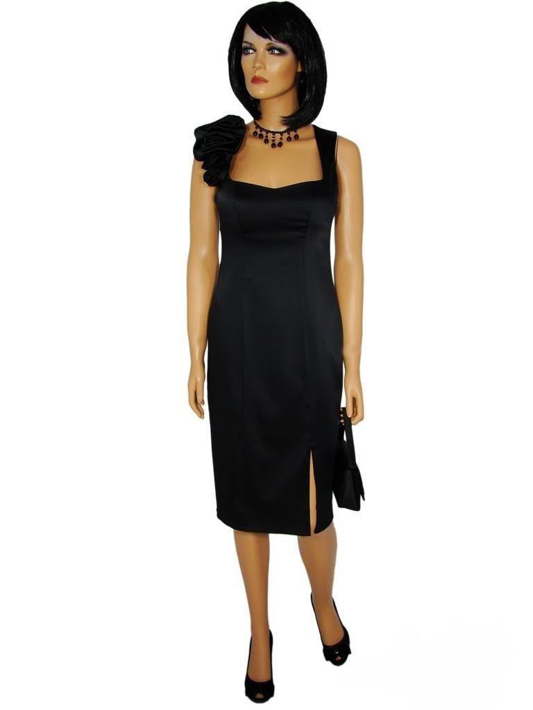 175d1695dc Mirona satynowa sukienka wyjściowa.