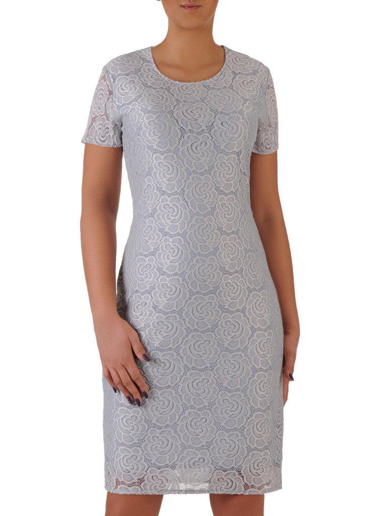 b8fc1be07a Nowoczesna sukienka z koronki Jolitta III