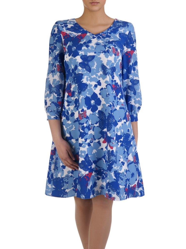 bf19367614 Piękna sukienka w kwiaty 14993