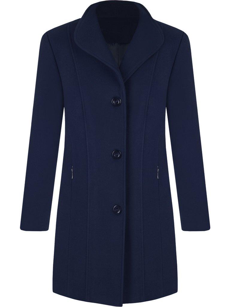 dde4d36f23d51 Stylowy płaszcz z kaszmiru i wełny Samira II.