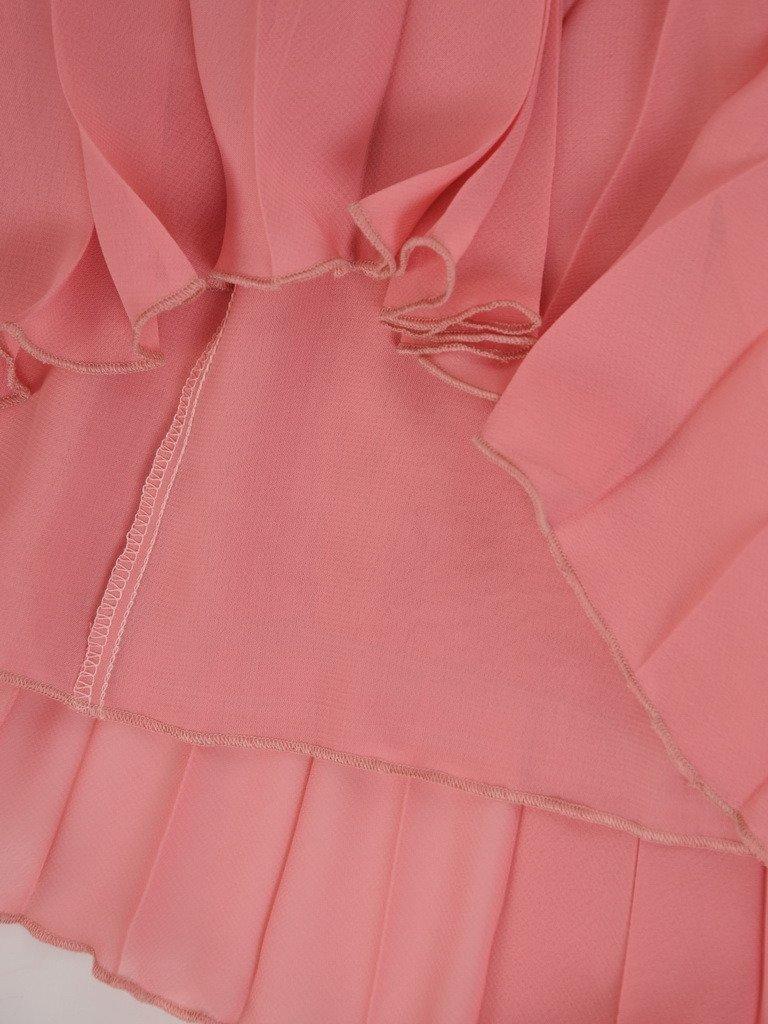 Plisowana spódnica z szyfonu 20699.