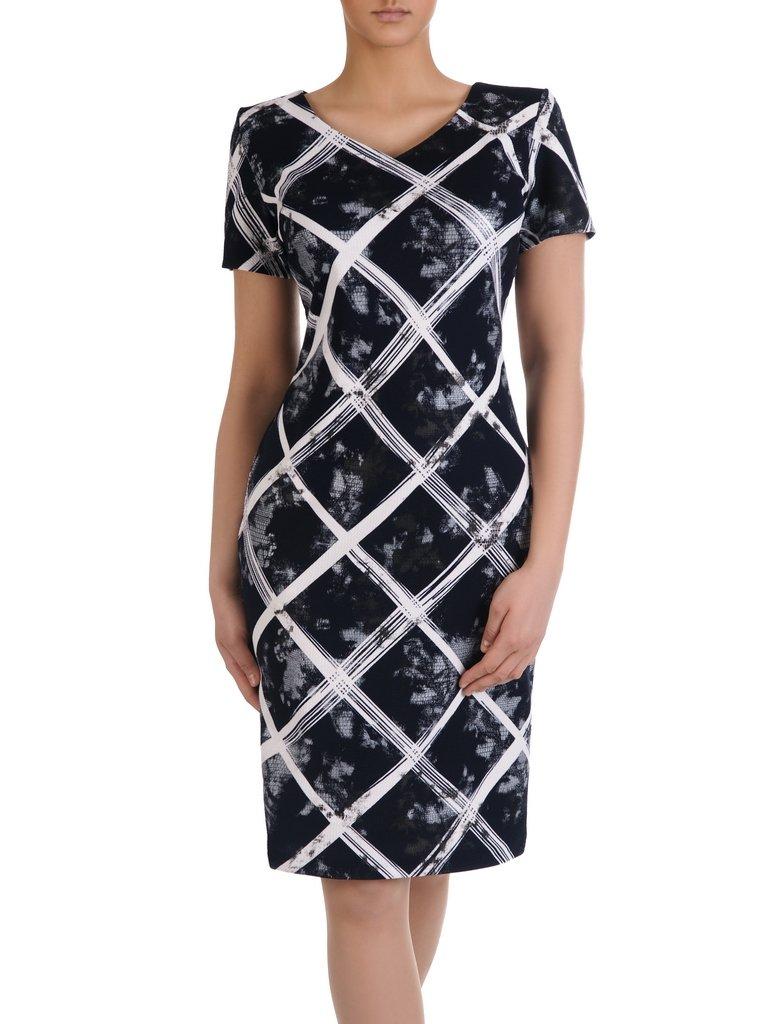 cc349006c6 Prosta sukienka w modny