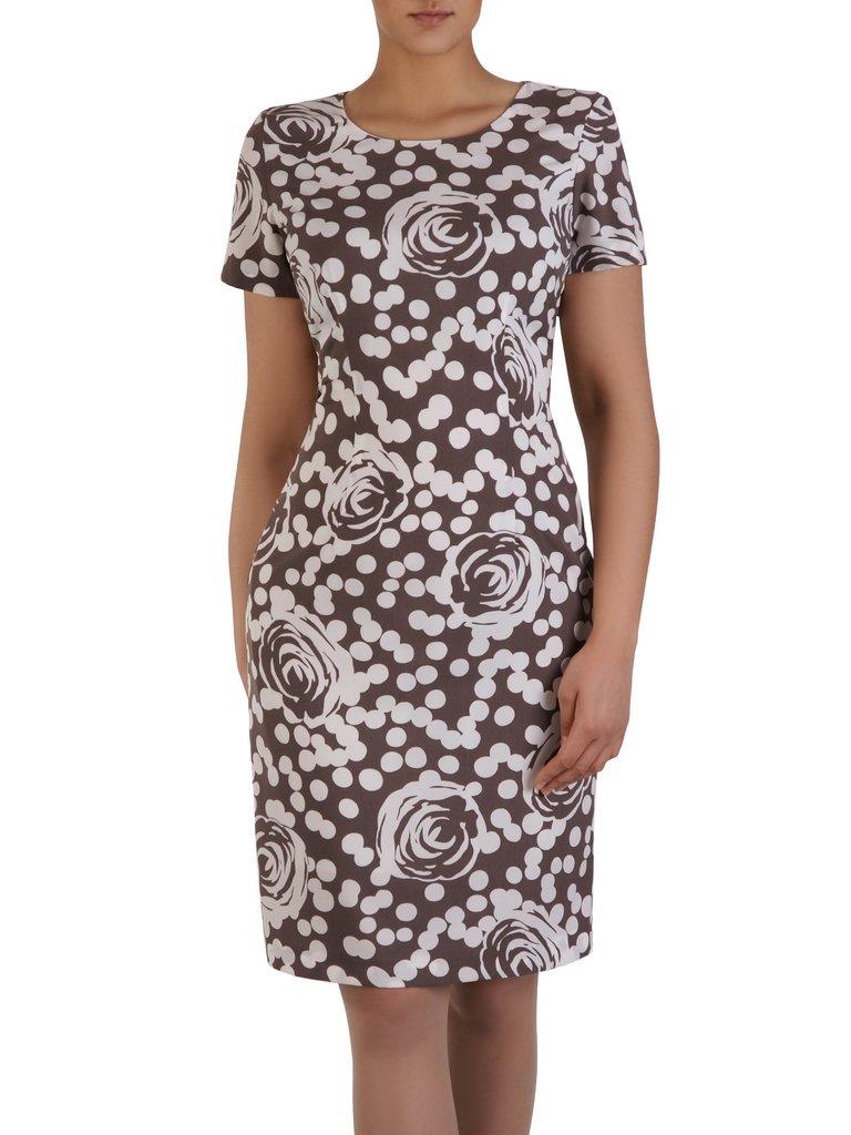 9b04cc5df0 Prosta sukienka w modny
