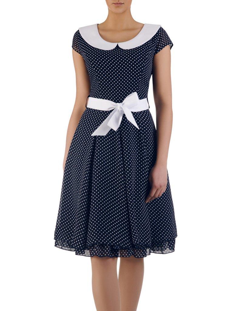 7c926d54ed Rozkloszowana sukienka Bianka I