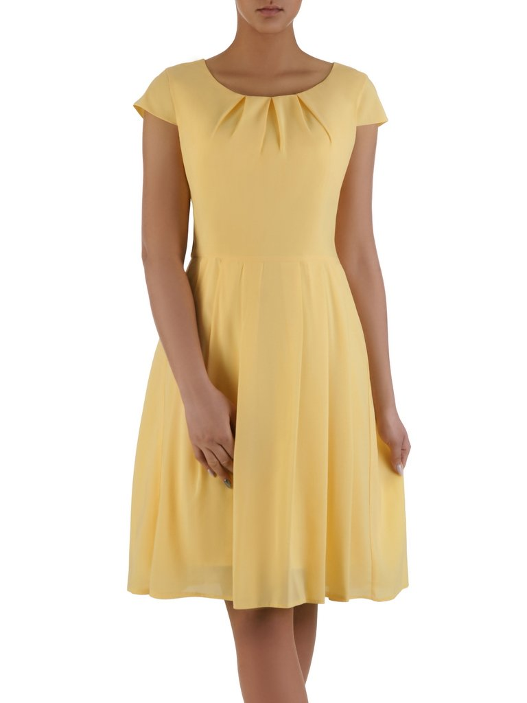 f61396aabf Rozkloszowana sukienka Izaura IX