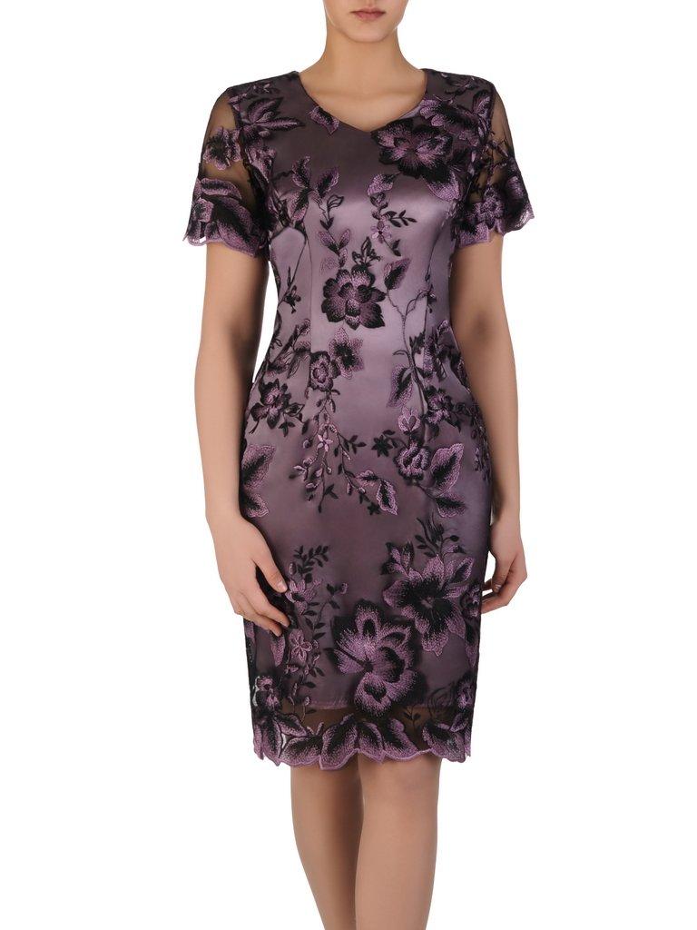 af12b20f Sukienka damska Arleta III, elegancka kreacja na wesele.