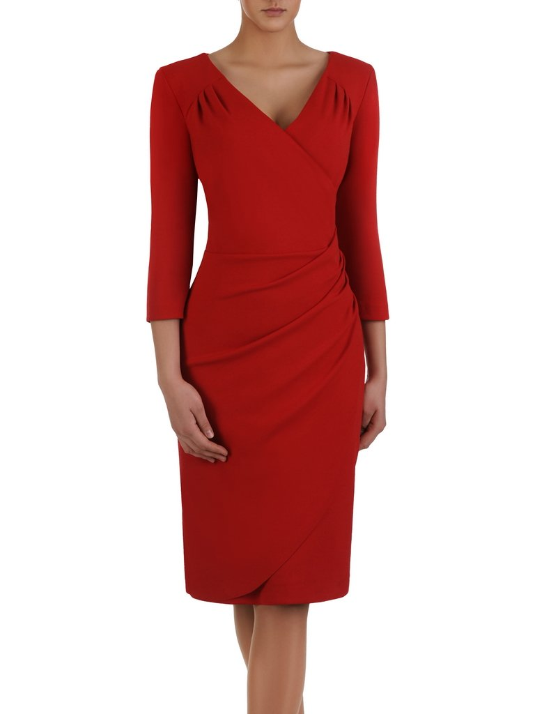 64247e401e Sukienka maskująca brzuch Apolonia IV