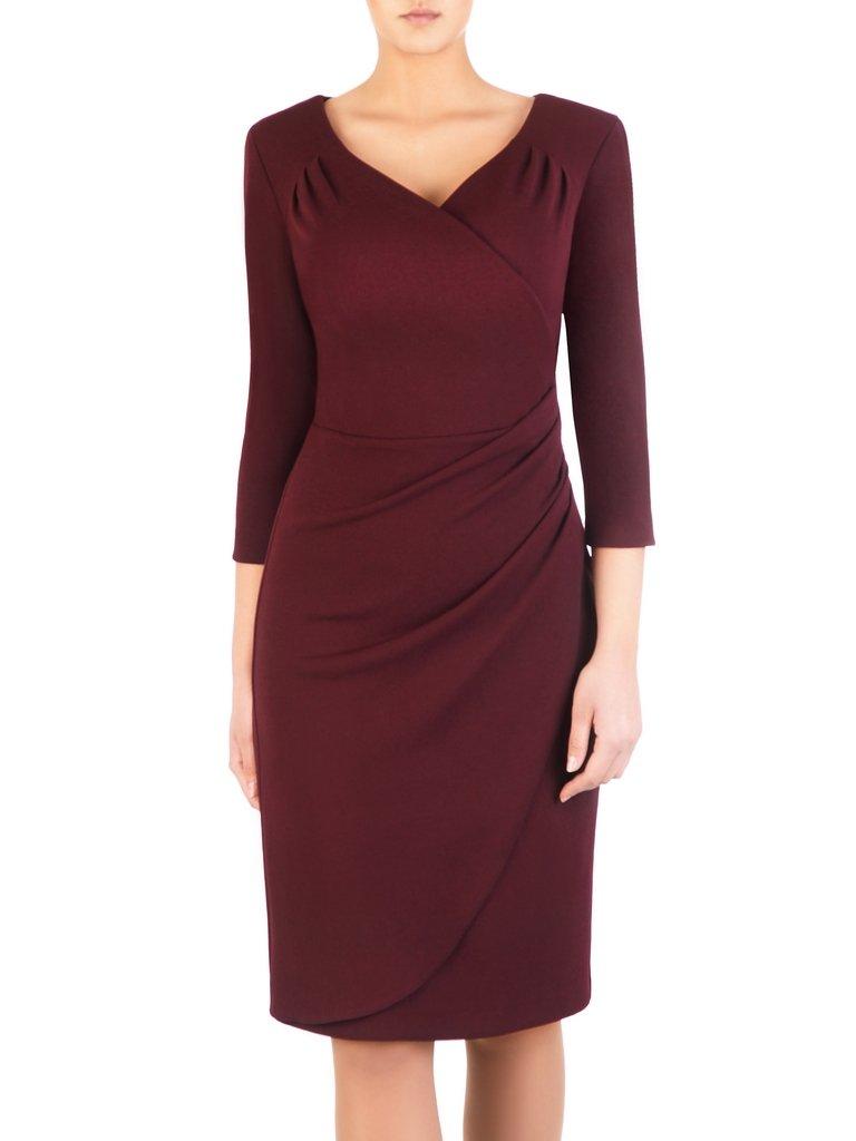 0c43a1dd8b Sukienka maskująca brzuch Apolonia VIII