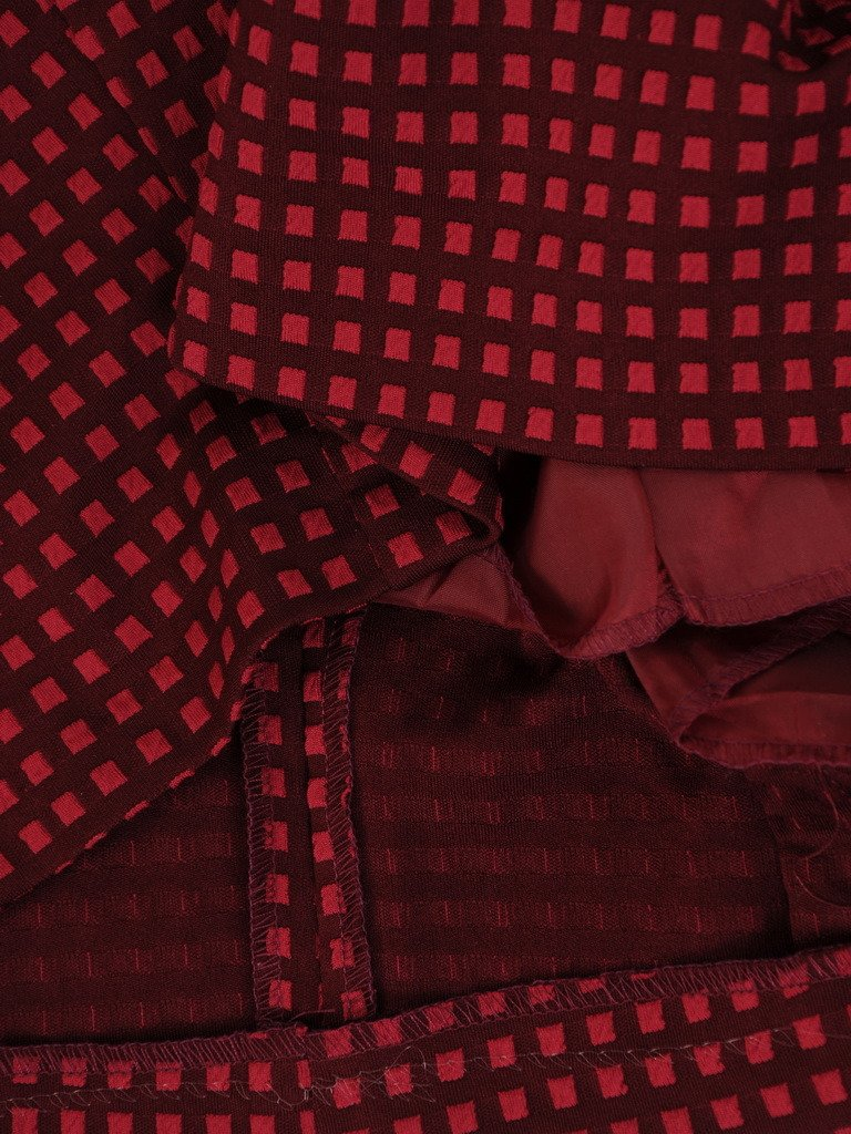 842dafc6 Sukienka tuba Mirona IV, wyszczuplająca kreacja maskująca brzuch.