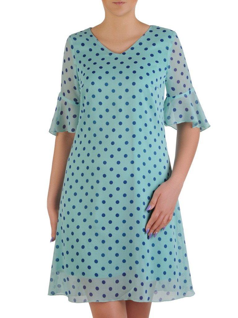 594bfa663f Sukienka w grochy