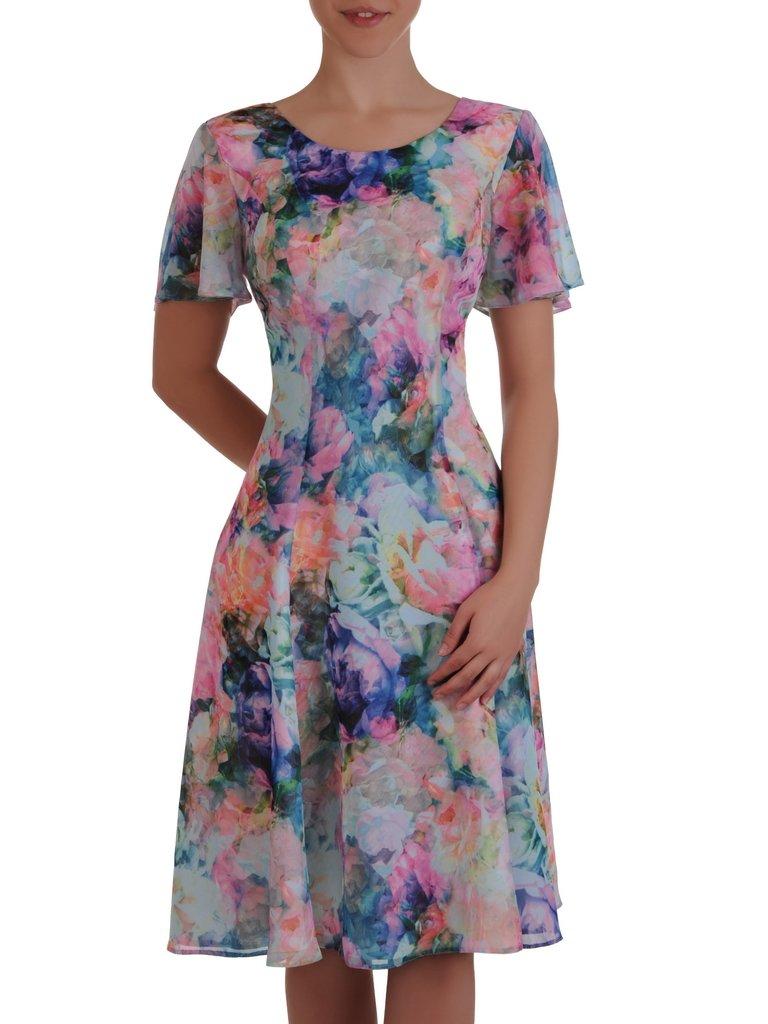 b867914208 Sukienka w kwiaty Maura V