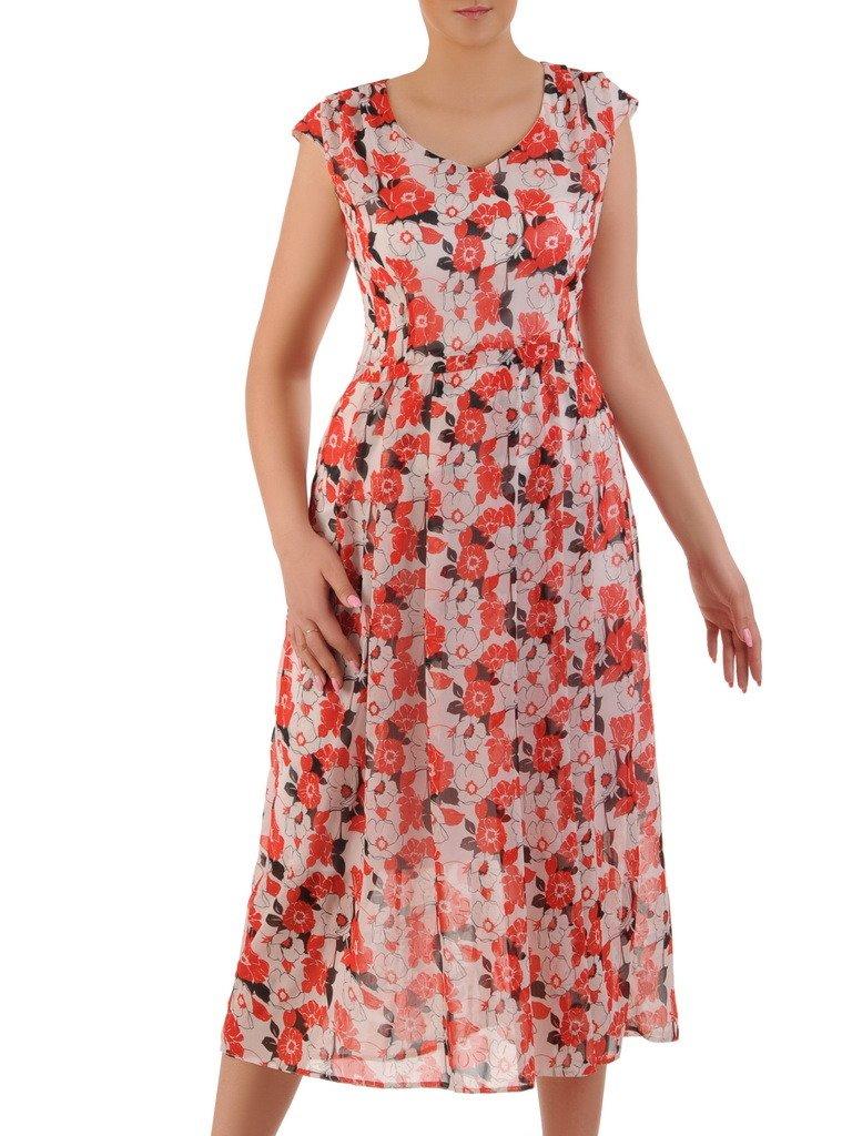 d25f55f6d0 Sukienka w kwiaty