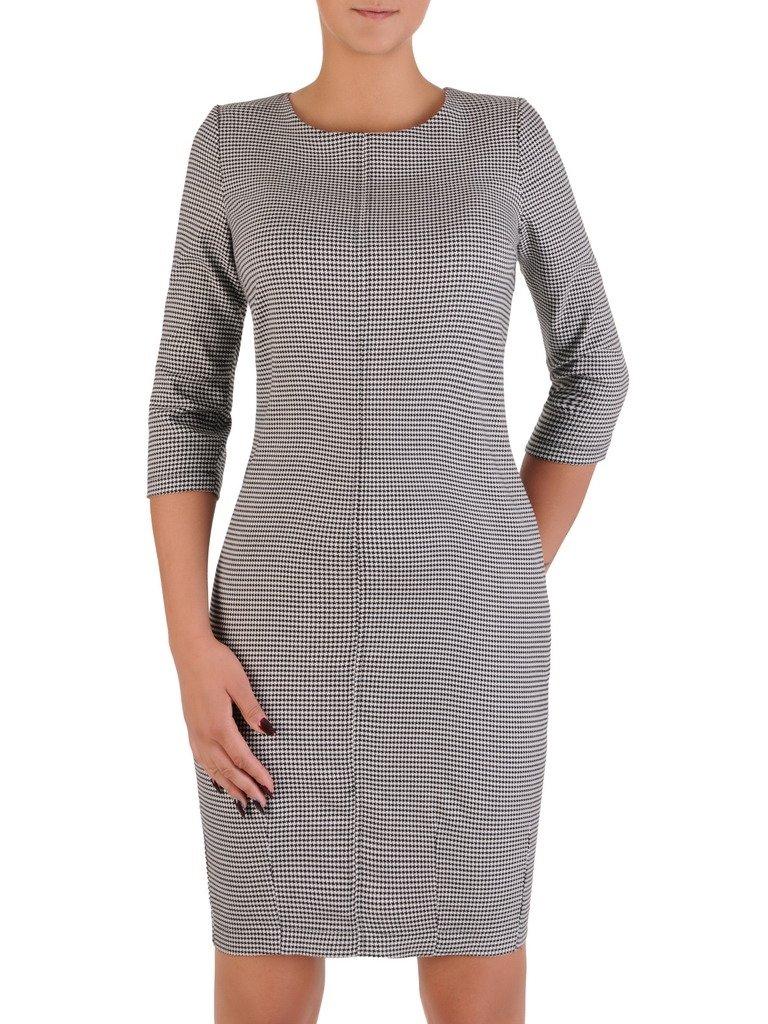 2b8ced160e Sukienka w pepitkę Magda VII