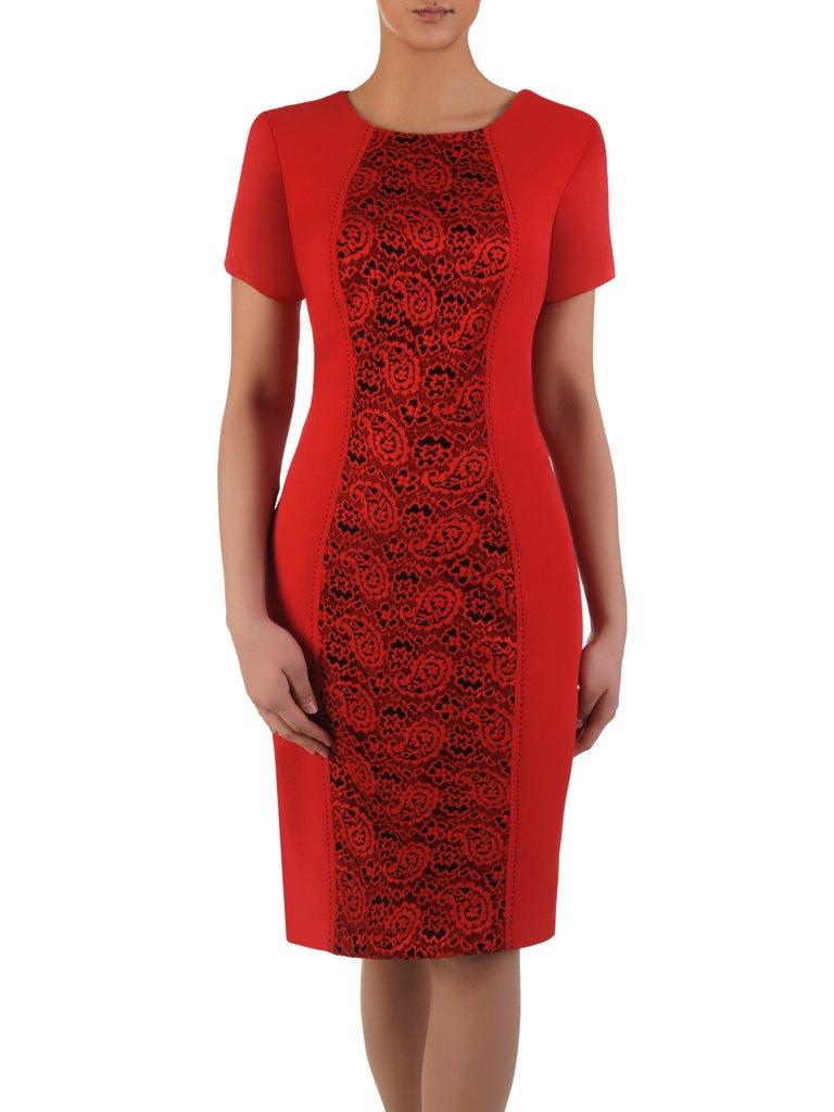 1c803462ba980f Kliknij, aby powiększyć · Sukienka wyszczuplająca Klementyna V, wizytowa  kreacja ...