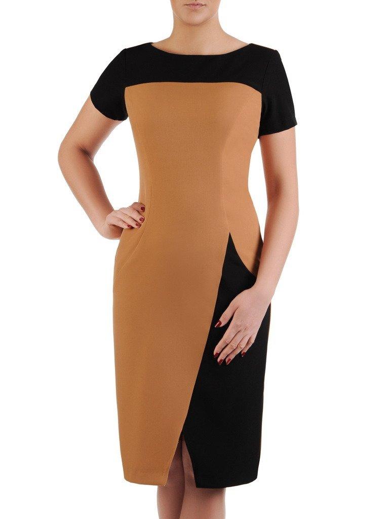 b83e7335af Sukienka wyszczuplająca
