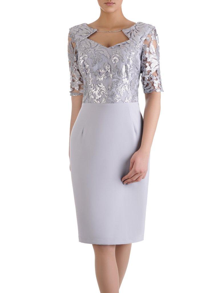 7f86ad1270 Sukienka z cekinowym gorsetem Alicja