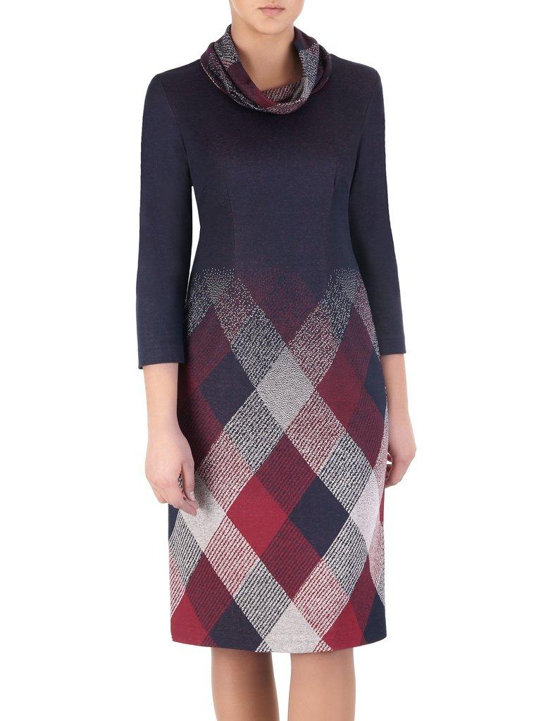 aff1092199 Sukienka z kominem Krystyna I
