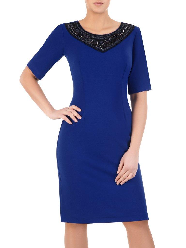 Zupełnie nowe Sukienka z koronkową aplikacją przy dekolcie Helenita II. | Sklep CZ76