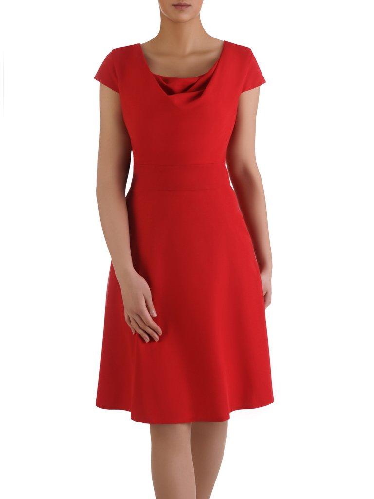 7fe08d9ba6 Sukienka z ozdobnym dekoltem Alika II
