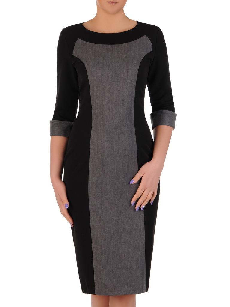 9a7801eb6d Sukienka z ozdobnymi mankietami Żaneta I