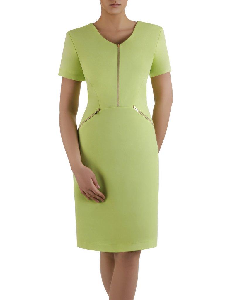 0a6bb014e1 Sukienka z ozdobnymi zamkami Emilia IV