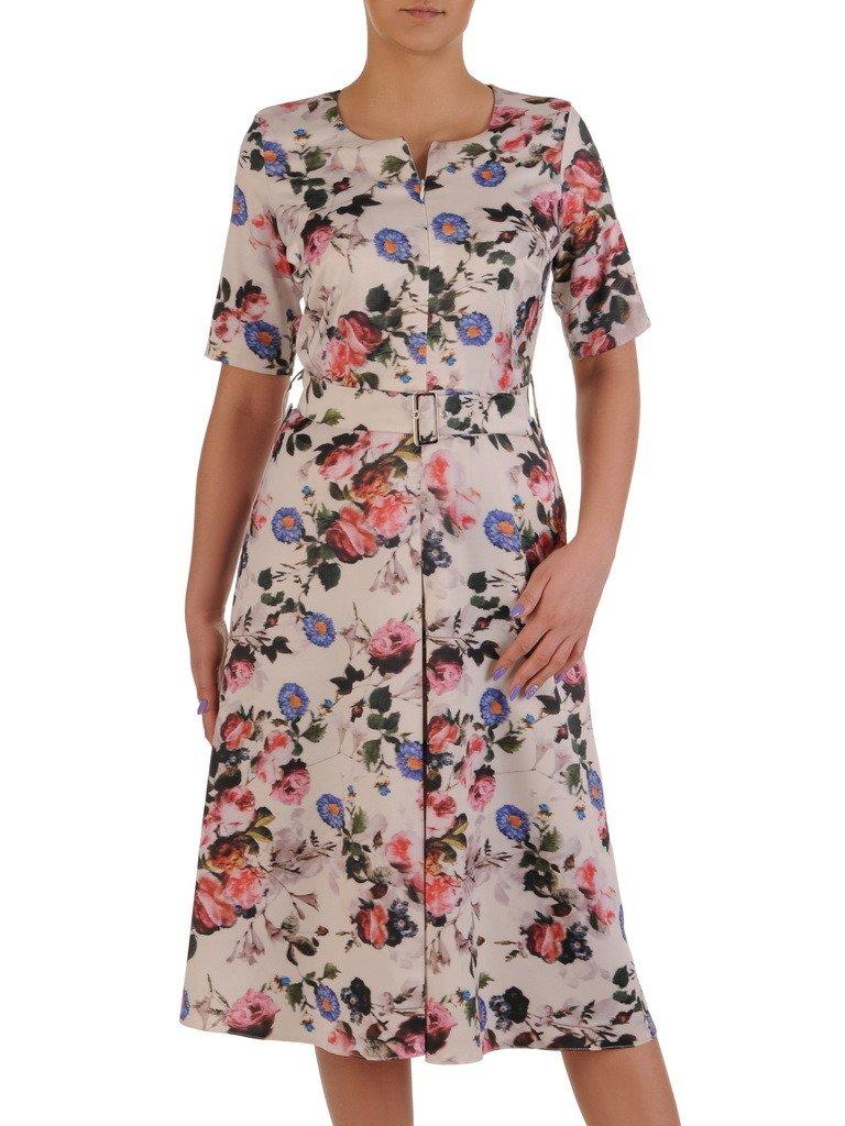 6fd452c131 Sukienka z suwakiem na dekolcie