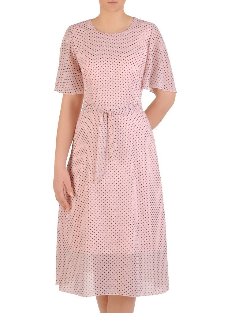 0b0143a1d5 Sukienka z szyfonu