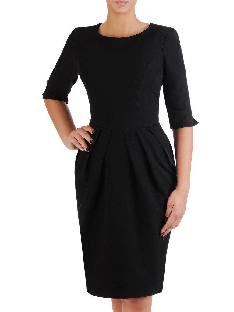 1553d16ff9 Sukienka z zakładkami Łucja II
