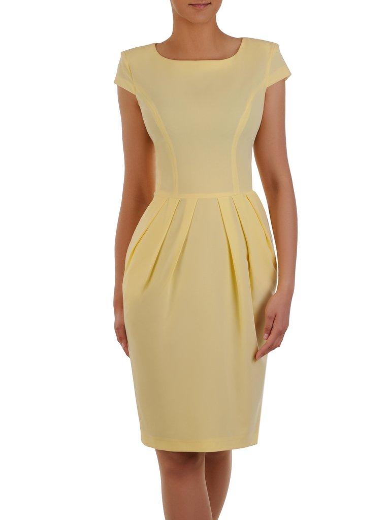 10e4a23871 Sukienka z zakładkami Łucja IX