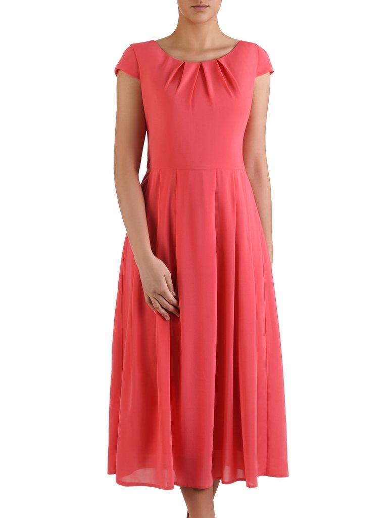2ad2c8664e Szyfonowa suknia Aurelia II