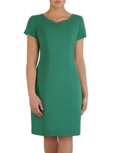 Sukienka damska Wilena, prosta kreacja w modnym kolorze.
